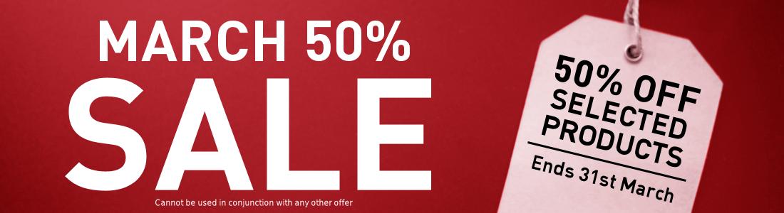 50% Sale