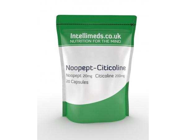 Noopept 20mg Citicoline 200mg Capsules